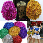 Durable Sports Cheerleader Party Favors Flower Ball Pom Poms Delicate MWCA