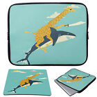 "11-15.6"" Laptop Animal Sleeve Case Bag+Mouse Pad For MacBook Pro Air Acer HP"