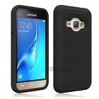 Cases Covers Skins - Shockproof Armor Hybrid Rubber Case For Samsung Galaxy Amp 2Express 3Luna 2016