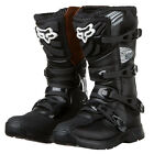New FOX Racing Comp 3 Black Youth Kids MX Offroad Motorbike Motocross Boots