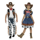 Smiffy's Childs Texan Cowboy Or Cowgirl Outfit Book Week Fancy Dress Costume
