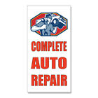 auto paint stores - Auto Body And Paint Car Body Shop Repair  DECAL STICKER Retail Store Sign