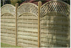 REINAS Tanalised wooden EURO fence panel 900mm to 1800mm high