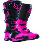 NEW FOX Racing Womens  Comp 5 Black Pink MX Boots Motocross Offroad Dirtbike