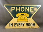 Orig. DOUBLE SIDED metal SIGN