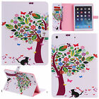 """Wake/Sleep Leather Magnet Wallet Flip Case Stand Cover For iPad 2 3 4 / Pro 9.7"""""""