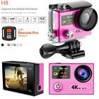 "EKEN H8 WiFi Sport Action Camera DV 4K Ultra HD 2.0"" Dual Screen 170° Wide Angle"