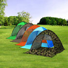 Portable 3 Person Waterproof Instant Pop Up Tent Camping Beach Shelter Canopy