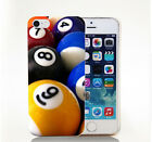 iPhone5s 6s 6plus 7plus billiards 8 9 Ball Pool Rack Hard Phone Case $1.93 USD