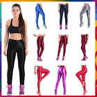 Parent-child Women Slim Fluorescent Leggings Pants Gym Yoga Stretch Skinny Hot
