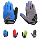 1Pair Red//Black/Blue/Green M/L/XL Full Finger Cycling Bicycle Riding Bike Glove