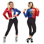Rubies Official Licensed Ladies Suicide Squad Harley Quinn Fancy Dress Outfit