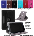 "New Universal Folio Leather Flip Case Cover For Android Tablet PC 7"" 8"" 9"" & 10"""