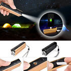 Portable Camping Outdoor Flashlight Cigarette Lighter Mobile Power Zoom Torch