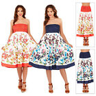 Pistachio Womens Painted Flower 2 in 1 Dress Or Maxi Skirt Ladies Summer Midi