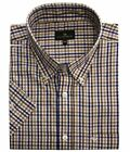 Cotton Valley Mens Cotton Rich Checked Smart Casual Shirt (14305)Size 2XL to 8XL