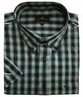 Cotton Valley Mens Cotton Rich Checked Smart Casual Shirt(14306),Size 2XL to 8XL