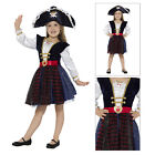 Smiffys Childs Deluxe Glitter Pirate Girl World Book Hat Full Fancy Dress Outfit