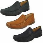 Mens Anatomic & Co Tavares Leather Casual Slip On Moccasin Shoes