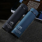 Stainless Steel Water Bottle Vacuum Insulated Creative Frosted Cup 15oz/450ml
