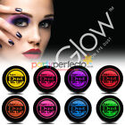 Paint Glow Neon UV Eye Dust - Choose From 8 Colours - Make Up Party Face Shadow
