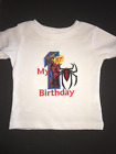 Spiderman My 1st Birthday Embroidered T-Shirt Keepsake Personalized