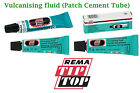 REMA TIP TOP VULCANIZING FLUID CEMENT tubes patches cycles SVS-VULC Patch glue