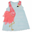 Mud Pie Flamingo Dress Baby Toddler Girls 12M-5T #1142198