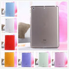 For iPad Air/Mini 1 2 3/Pro 11 Clear Soft TPU Rubber Skin Protective Case Cover