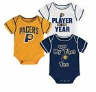 Indiana Pacers Bodysuits Rompers Creepers baby infant *3 pack* NWT 12 mo. on eBay