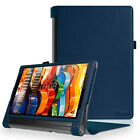 "For Lenovo Yoga Tab 3 Pro / Tab 3 Plus 10.1"" Case PU Leather Folio Stand Cover"