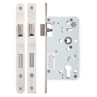 Zoo Mortice DIN Euro Profile Sash Lock Case Body 60mm Backset Stainless Steel