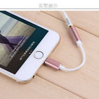 New Metal 3.5mm Earphone Headphone Jack Adapter Cable For iPhone 7/7P