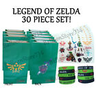 30 Piece Set - Legend of Zelda Party Favors ~ Bags, Bracelets, Tattoo Sheet