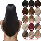 """NEW clip in one piece 100% remy human hair extensions full head 24"""" 160g cheap"""