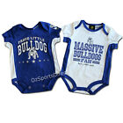 NRL Canterbury Bulldogs 2-Piece Bodysuit Set (Sizes 000 - 1)