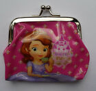SOFIA THE FIRST Girls Childrens Coin Purse 7 designs party bag filler Lot NEW