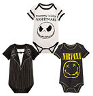 StylesILove Infant Toddler Chic Halloween Baby Boy Short-Sleeve Costume Bodysuit