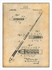 1917 Billiards Pool Cue Patent Print Art Drawing Poster 18X24 $24.99 USD