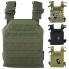 TACTICAL VEST LIGHTWEIGHT SPARTAN PLATE CARRIER AIRSOFT BTP BLACK PAINTBALLING