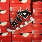 2017 Nike Air More Uptempo Bulls Red White Black '96 Bred 921948-600 Sz: 7.5-13
