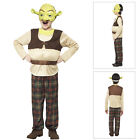 Smiffys Kids Official Licensed Dreamworks Boys Shrek Childs Fancy Dress Costumes