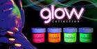 GLAM & GLITS GLOW IN THE DARK ACRYLIC 1 OZ NAIL POWDER! BRAND NEW! NOW 48 COLORS