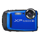 Fujifilm FinePix XP90 16.4MP Digital Camera Lime Blue Orange Yellow Full-HD WiFi