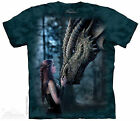 (5615) The Mountain T-Shirt Shirt ONCE UPON A TIME Anne Stokes S bis 5XL Drache