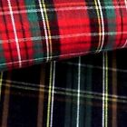 TARTAN  Red & Green only £2.20 per metre  /Quilting/ Crafts/Projects