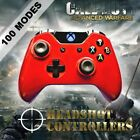 Xbox One/S/X Met Red Arbiter 5 Rapid Fire 4 Carbon Paddle Controller COD BF1