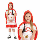 New Childrens Little Red Riding Hood Rubies Girls Story Time Fancy Dress Costume