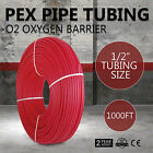 """1/2""""x1000ft O2 EVOH PEX Tubing/PEX Pipe For Water Plumbing Applications Best"""