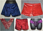 WOMEN SEXY VELVET HOT PANTS SHORT BRIEF PANTY THONG LINGERIE SWIMSWEAR PARTY